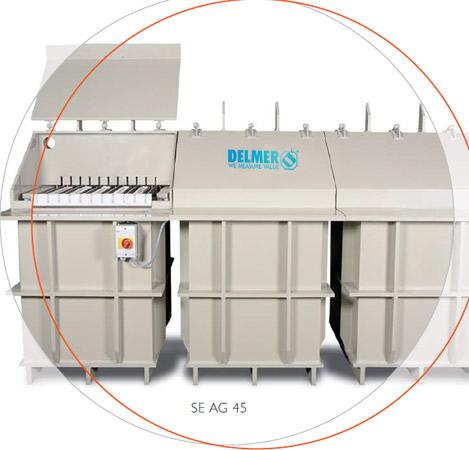 Silver electrolysis SE AG India