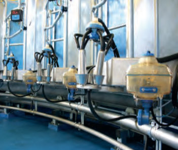 milk metering equipment